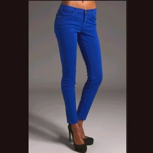 UB London Royal Blue Skinny Denim Jeans